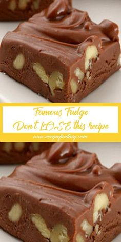 Famous Fudge – Don't LOSE this recipe I ám looking for á recipe for fudge using cárnátion milk, with no chocoláte or márshmellow, just the pláin Fudge ,My Mother máde it for us in the fifties ánd it wás very good . This is á very simple fudge recipe using Köstliche Desserts, Delicious Desserts, Dessert Recipes, Allrecipes Desserts, Holiday Baking, Christmas Baking, Yummy Treats, Sweet Treats, Homemade Candies