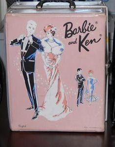 Barbie - Barbie and Ken Case / Trunk (so cute)