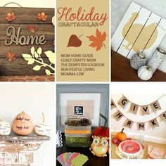 This month's Holiday Craftacular has started! All week long @beckydempster @curlycraftymom @momhomeguide @beauteefulliving and myself will be sharing #DIY #Thanksgiving posts with you! Be sure to stop by #ontheblog and link up with us!