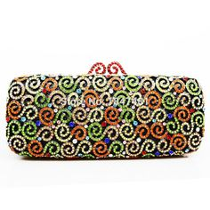 Luxury handmade evening bags made of crystals   rhinestones. 7a51d9bd0555