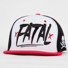 FATAL Brushes Mens Snapback Hat  0eb04963153e