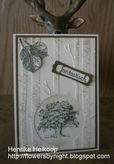 Woodland Textured Impressions Embossing Foldervan Stampin Úp! Lovely As a Tree van Stampin 'Up!