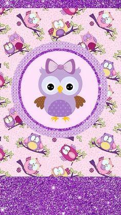 Trendy Wall Paper Fofos Femininos Coruja in 2020 Cellphone Wallpaper, Iphone Wallpaper, Cute Wallpapers, Wallpaper Backgrounds, Cute Owls Wallpaper, Owl Background, Printable Scrapbook Paper, Owl Cartoon, Owl Pictures