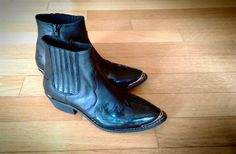 I now own these bad boys! Topshop Arson Ankle Boots (Photo By Kyo)