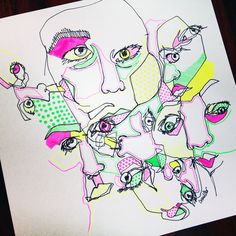 10 Amazing Blind Drawings That Will Challenge The Way You View Art