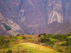 Landscape on the Choquequirao trek
