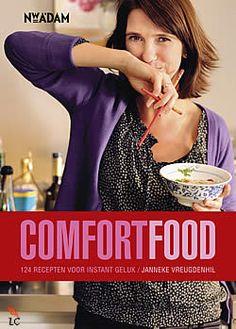 """Boek """"Comfortfood"""" van Janneke Vreugdenhil   ISBN: 9789046811443, verschenen: 2011, aantal paginas: 288"""