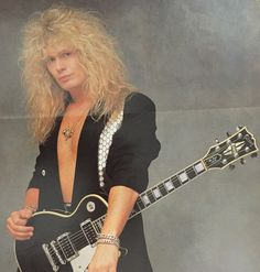 John Sykes from YOUNG GUITAR magazine 1989