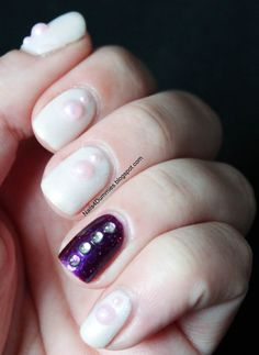 Nails4Dummies - Frosty Purple Mani  http://www.modemalaysia.blogspot.com/