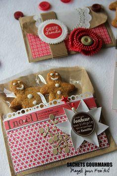 diy, sachets de cookies à réaliser pour #Noël #Christmas
