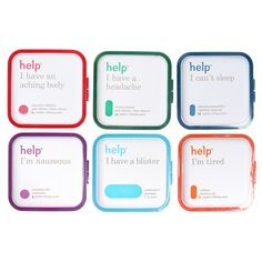Help Remedies Kits.  Great Compact Size for Travel