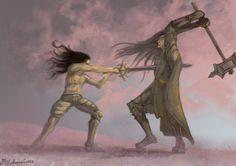 Melkor Morgoth Turin Turambar  by sonnglung