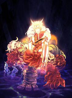 Tags: NARUTO, Uzumaki Naruto, Pixiv, Kyuubi (NARUTO), Jinchuuriki, Shukaku, Tailed Beasts, Nibi no Bakeneko, Sanbi no Kyodaigame, Yonbi, Gobi, Rokubi, Nanabi, Hachibi, Pixiv Id 44316