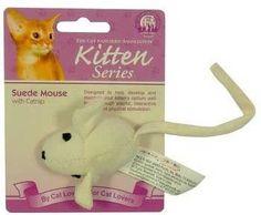 JPI JAKKS Pacific CFA Kitten Suede Mouse with Catnip * undefined