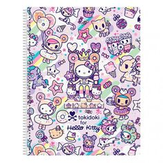 Hello Kitty tokidoki sweets notebook #tokidokibacktoschool
