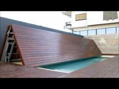 Cobertura de Segurança para Piscinas em Tesoura - Security covers for swimming pools - YouTube