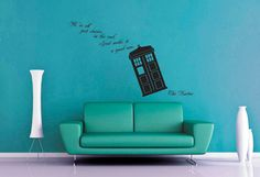 We Are All Stories  Doctor Who  Wall Decal by WallsOfText on Etsy, $21.95