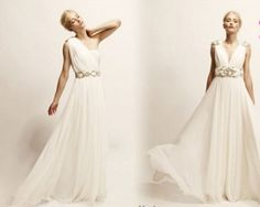Vestidos de noiva estilo grego é moda