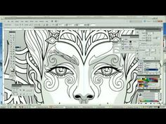 Coloring Tutorial Fey Enchantress From Magical Beauties By Cristina McAllister