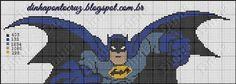 to Cruz - bem vindos deixem seus comentários - Dinha Pon Hero Crafts, Graph Crochet, Dc Comics, Batman, Melting Beads, Stitch 2, Avengers, Rug Hooking, Batgirl