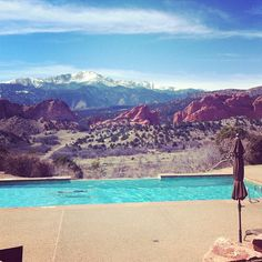 We love living in Colorado Springs! Delightful weather today 3/14/13 - photo by @cosbenny | www.720MEDIA.com