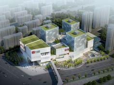 El proyecto Vanke Jiugong (Beijing) ha sido reconocido por su intrincada mezcla de ventas, ocio, entretenimiento y programas de oficina, y por las fuertes conexiones urbanas y experiencias que propone, a través de su inversión de la tipología del centro comercial.