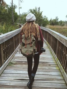 Hiking Outfit on We Heart It