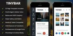 Tinybar Mobile (Mobile Template) | Gazduire web enterprise