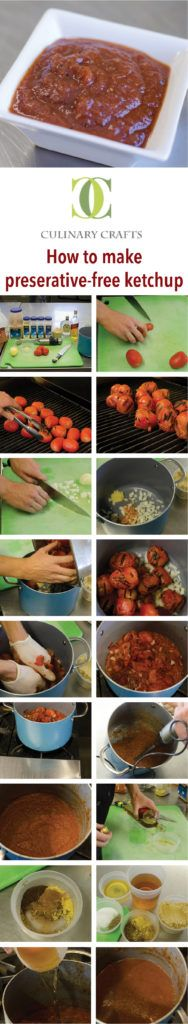 How to make preserative-free ketchup, recipe on the blog!! www.culinarycrafts.com