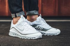 On-Foot: Nike Air Max More 'White/Metallic Silver' - EU Kicks: Sneaker Magazine