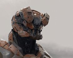 Mecha, Carlos Alberto Martínez on ArtStation at https://www.artstation.com/artwork/D3rPo