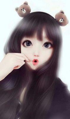 รูปภาพ art, girl, and illustration Manga Anime Girl, Cool Anime Girl, Pretty Anime Girl, Beautiful Anime Girl, Beautiful Girl Drawing, Cute Kawaii Girl, Cute Cartoon Girl, Kawaii Anime Girl, Cartoon Girl Images