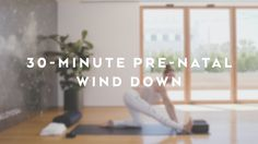 30-Minute Pre-Natal Wind Down with Andrea Bogart - Alo Yoga