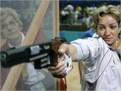 Maria Grozdeva  is a Bulgarian sport shooter, concentrating on both 25 metre pistol and 10 metre air pistol. She is the only woman to have successfully defended 25 metre pistol title at the Olympic Games. Apart from her five Olympic medals including two gold medals, she also has been successful at CISM World Championships and ISSF World Cups. She is also the current holder of the final world record in 25 metre pistol.