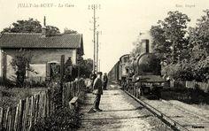La gare de Jully-les-Buxy.