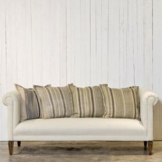 Rolled Back Sofa - Furniture - RLH Collection - Ralph Lauren Home - RalphLaurenHome.com