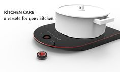 A watched pot never boils. That's pretty much the reason behind the design of the 40Ring induction cooker. Check out at www.yankodesign.com