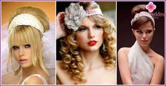 Wedding Hairstyles in retro style - a review of all options, photo and video