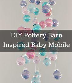 DIY Pottery Barn Inspired Baby Mobile