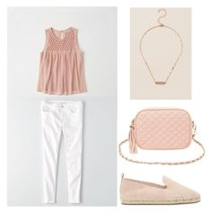 """""""Untitled #371"""" by eliz171 on Polyvore featuring Abercrombie & Fitch, American Eagle Outfitters, ALDO, Charlotte Russe and Francesca's"""
