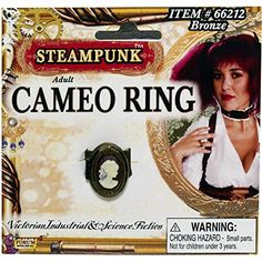 Buy Steampunk Cameo Ring, available for Next Day Delivery. The Steampunk Cameo Ring features a Bronze Opening Ring Face with a White Silhoutte of a Woman on the front. Victorian Party, Victorian Steampunk, Steampunk Rings, Steampunk Cosplay, Steampunk Accessories, Steampunk Clothing, Fancy Dress Ball, Cameo Ring, Secret Compartment