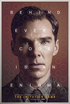 Benedict Cumberbatch in The Imitation Game: exclusive poster - The Telegraph. An interesting film with a terrific performance by Benedict Cumberbatch as Alan Turing. Benedict Cumberbatch, Hd Movies, Movies To Watch, Movies And Tv Shows, Movies Online, 2015 Movies, Movies Free, Cult Movies, Alan Turing