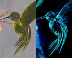 Click through for our Top 10 Glow Paint Tips and Tricks.  A must read before creating your own glow in the dark painting!