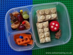 Thanks for sharing Eats Amazing - a great LEGO lunchbox theme today!