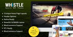 Whistle is an unique sports theme that comes with lot of pre-defined options. This theme is well suited for all sports business and to display their products. This theme can also be tweaked to various type like displaying the results of sports and/or listing the upcoming sports event. With advanced theme panel option, lot of customization is possible in which makes the user to complete the website within few hours with ease. With premade shortcodes & custom elements users can display their…