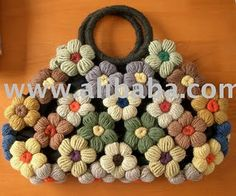turning flowers into bag