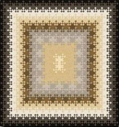 "Nine Patch -- Edo Quilt Kit ""Neutral"" Free Pattern Download - Gail Kesslers Ladyfingers Sewing Studio - Fabric, Notions, Needles, Patterns and Sewing Classes"