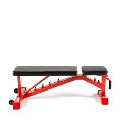 The Lifeline Adjustable Utility Weight Bench provides a versatile training compliment for our dumbbells and kettlebells - whether Powerlifting, Bodybuilding, Functional Training or simply getting the body back in shape, this bench delivers. Homemade Gym Equipment, Diy Gym Equipment, No Equipment Workout, Home Weight Training, Weight Training Equipment, Home Made Gym, Diy Home Gym, Gym Workouts, At Home Workouts