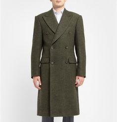 Richard JamesHerringbone Wool Overcoat