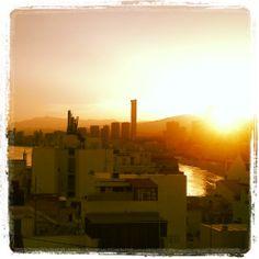 Se pone el sol en #Benidorm... #sunset